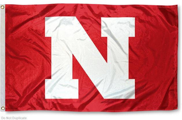 Nebraska Huskers Flag