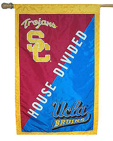House Divided Flag - USC vs. UCLA