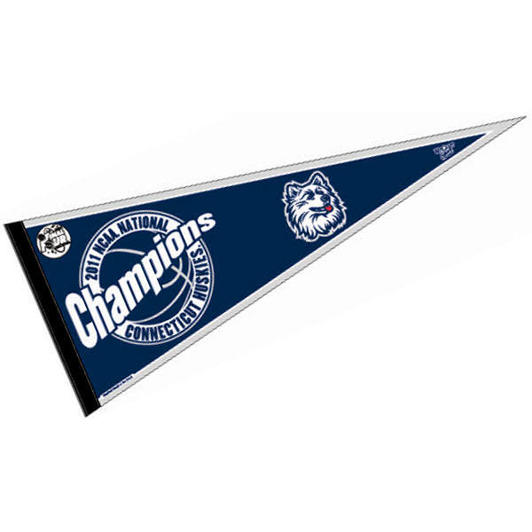 University of Connecticut National Champions Pennant