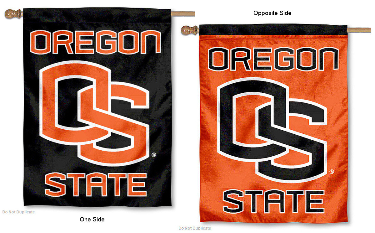 oregon state university banner flag ebay. Black Bedroom Furniture Sets. Home Design Ideas