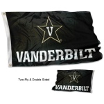Vanderbilt Commodores 2x3 Foot Embroidered Flag College Flags /& Banners Co